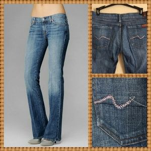 Seven for All Mankind Bootcut Jeans Bling (KMOB)